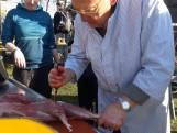 Edelherten ontbenen tijdens winterkamp in Otterlo