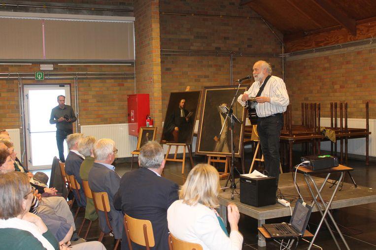 Voor de gelegenheid maakte volksmuzikant Walter Evenepoel een lied ter ere van Frans-Jozef De Gronckel.