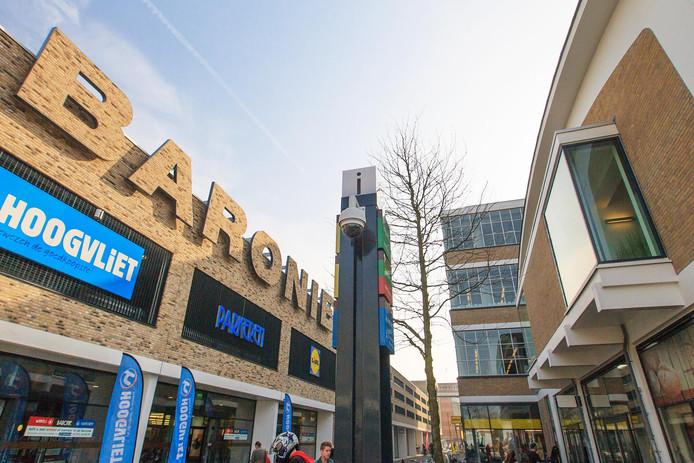 Winkelcentrum De Baronie in Alphen aan den Rijn.