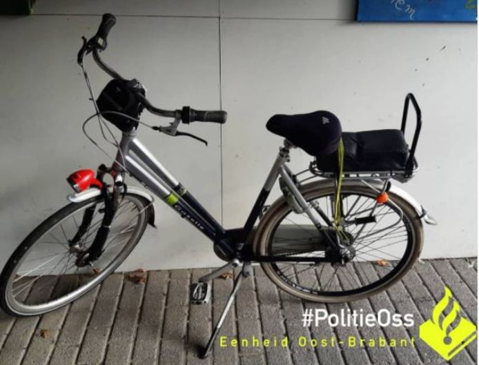 De fiets van de autodief.