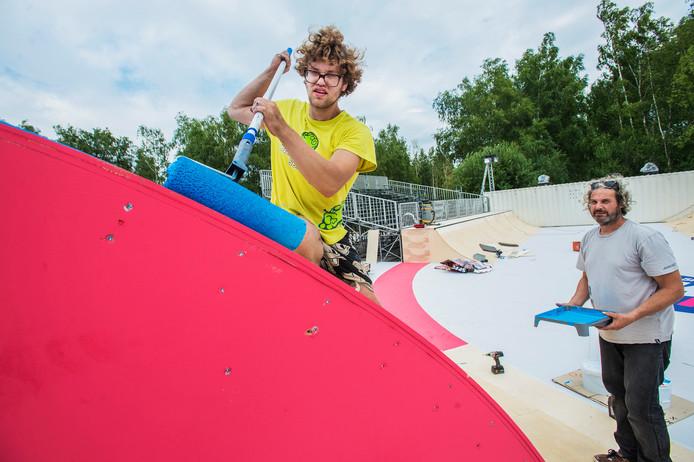 De skatebaan op Woo Hah! wordt 500 vierkante meter groot en krijgt ernaast een speciale tribune en een dj-booth in een container.