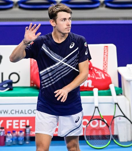 De Minaur en quarts à l'European Open, contre Goffin?