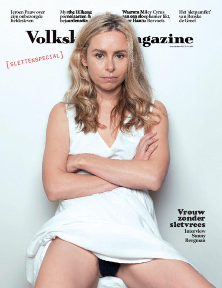 Het Volkskrant-magazine van afgelopen zaterdag Beeld De Volkskrant