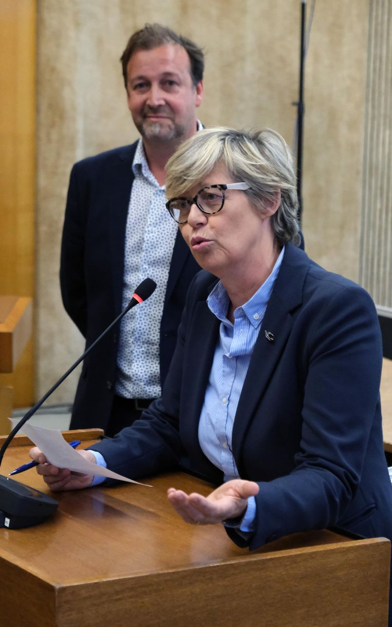 Christine Depuydt nam eveneens het woord.