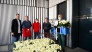 UZA en Middelheim Ziekenhuis krijgen 3.000 rozen als dank voor hun inzet tijdens coronacrisis