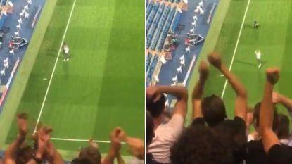 Club-fans moeten blijven zitten in Bernabéu, en plots duikt (enthousiaste) Vormer op