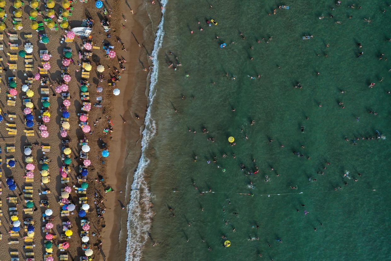 Het toerisme in Turkije is jaarlijks goed voor 32 miljard euro. Beeld Getty Images