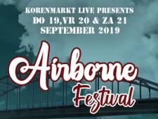 Programma Airborne Festival op Korenmarkt ingekrompen