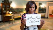 Ook Michelle Obama protesteert tegen ontvoering: #BringBackOurGirls