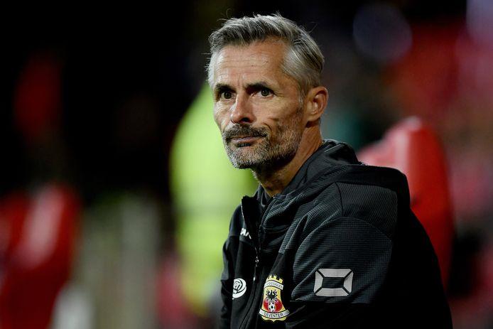 Coach Kees van Wonderen van Go Ahead Eagles