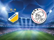 Ajax op jacht naar ticket voor groepsfase Champions League