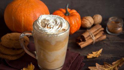 Nu wordt het echt herfst: vanaf volgende week weer Pumpkin Spice Latte bij Starbucks