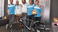 'Giro for Kids'-fietsers dekken de tafel