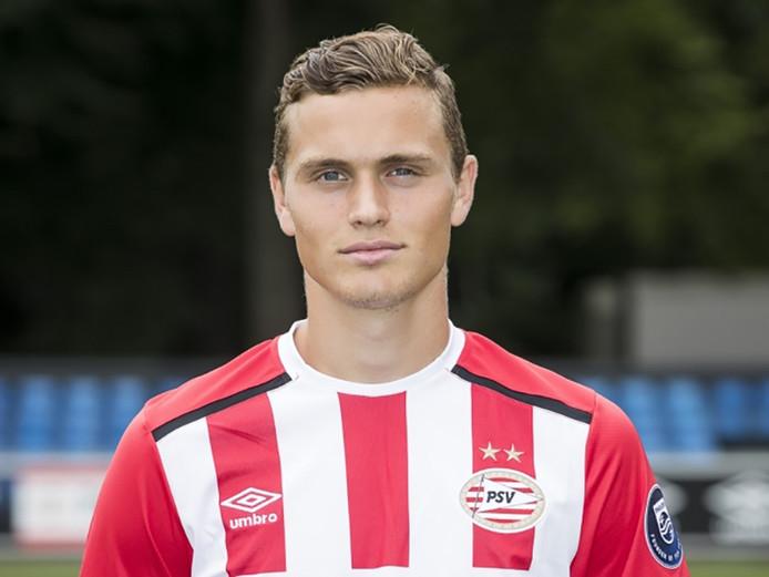 De aan VVV verhuurde Damian van Bruggen vertrekt na dit seizoen bij PSV.