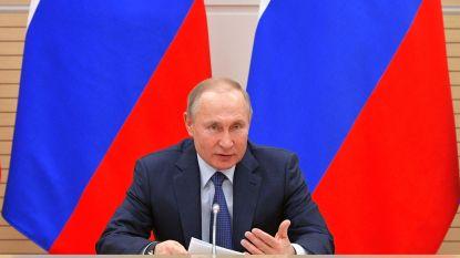 """Poetin volop bezig met hervorming grondwet, maar """"geen homohuwelijk zolang ik president ben"""""""