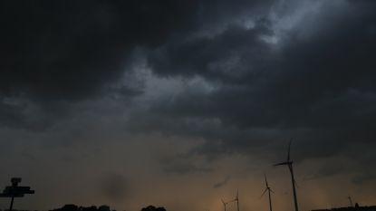 Onweer richt enkel lichte schade aan