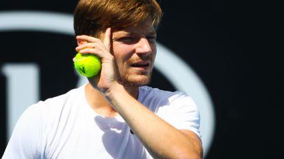 """Goffin klaar voor Australian Open: """"Mijn status veranderd? Voor mij niet"""""""