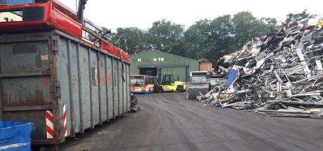 Koperdieven slaan weekend op weekend toe bij recyclingbedrijf in Winterswijk