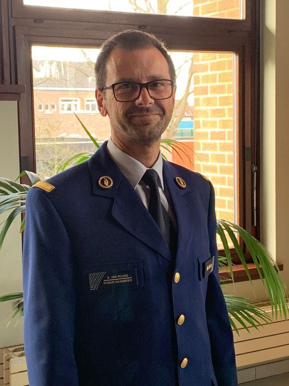 Hoofdcommissaris Koen Van Poucke heeft na zes jaar als waarnemend korpschef de eed afgelegd.