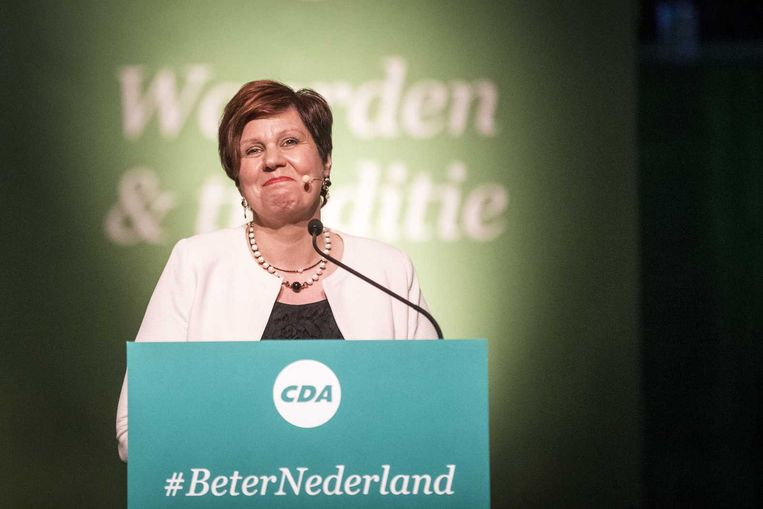 CDA-partijvoorzitter Ruth Peetoom. Beeld anp