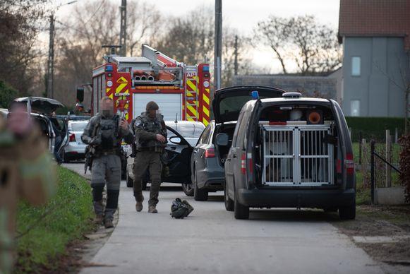 Archiefbeeld. Interventieploegen van de federale politie kwamen mee bemiddelen.