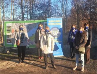 Soroptimist  Zottegem schenkt 1.000 euro aan een  buurtproject in Elene