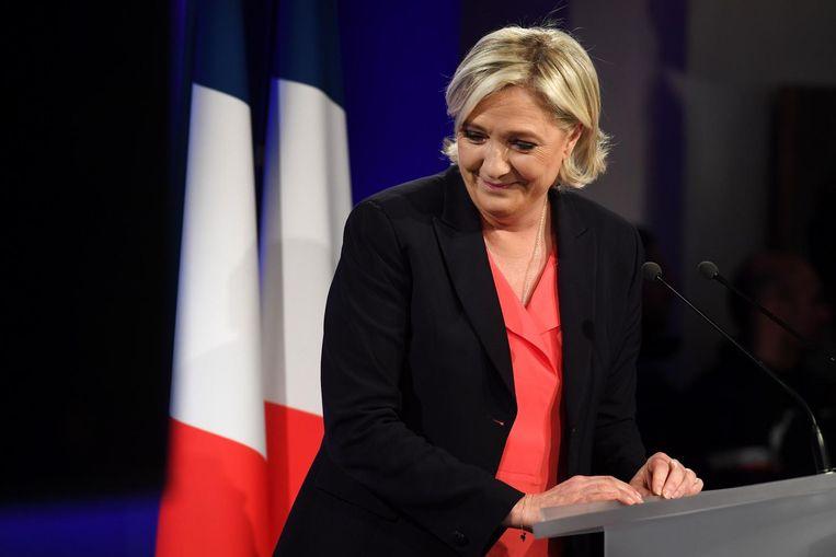 Marine Le Pen verloor de Franse presidentsverkiezingen. Hoe nu verder voor haar? Beeld null