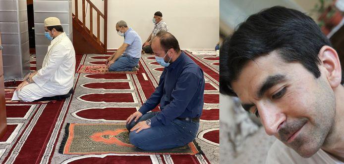 Demir Ali Köse, voorzitter van de Vereniging van Gentse Moskeeën, wil iedereen een hart onder de riem steken