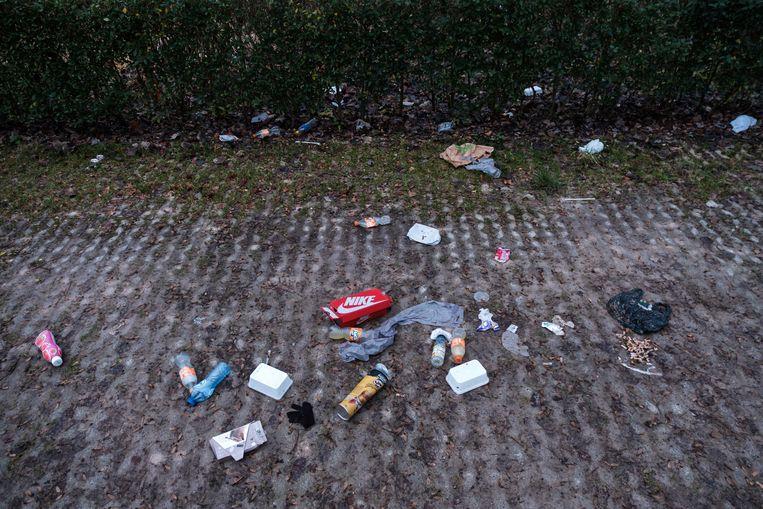 Illustratiebeeld : Ook Wetteren vraagt een globale aanpak van zwerfvuil en invoering statiegeld.