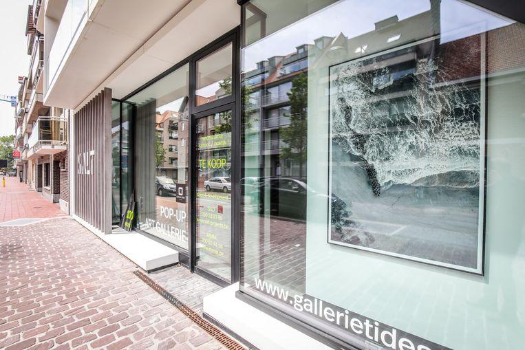 Momenteel sieren de foto's deze galerie in Knokke.