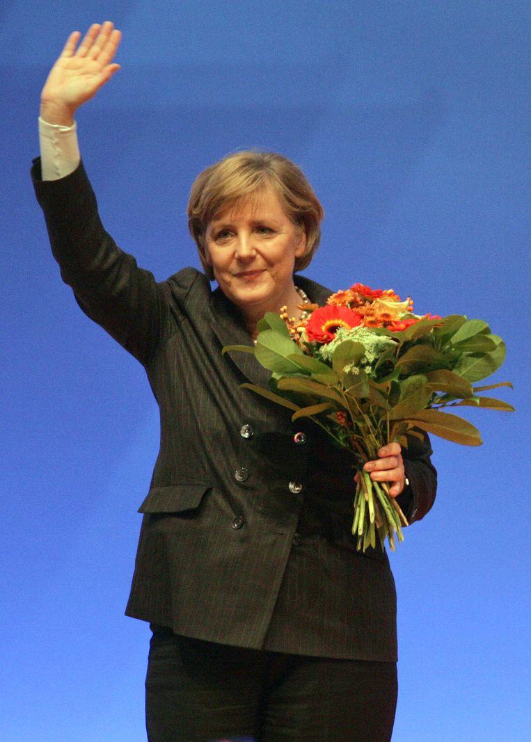 Merkel in 2006. Beeld AFP