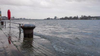 Waterpeil op veel plaatsen nog altijd  erg hoog