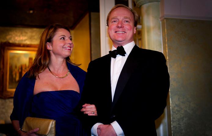 Prins Carlos en prinses Annemarie.