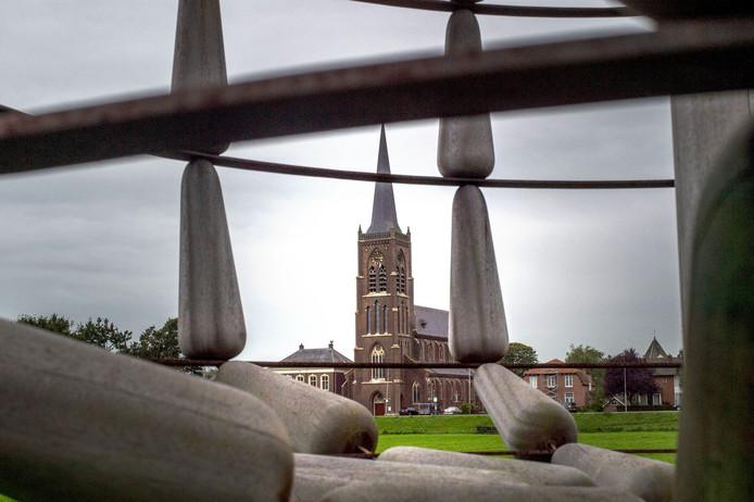 De RK kerk van  Batenburg.