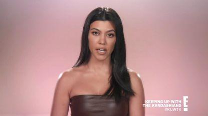 """Na gevecht met zus Kim verdedigt Kourtney Kardashian zichzelf: """"Kinderen opvoeden is ook een job"""""""