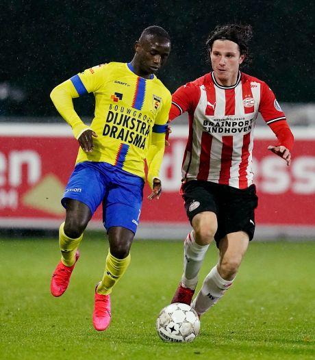 Kallon voorkomt puntenverlies Cambuur op bezoek bij Jong PSV