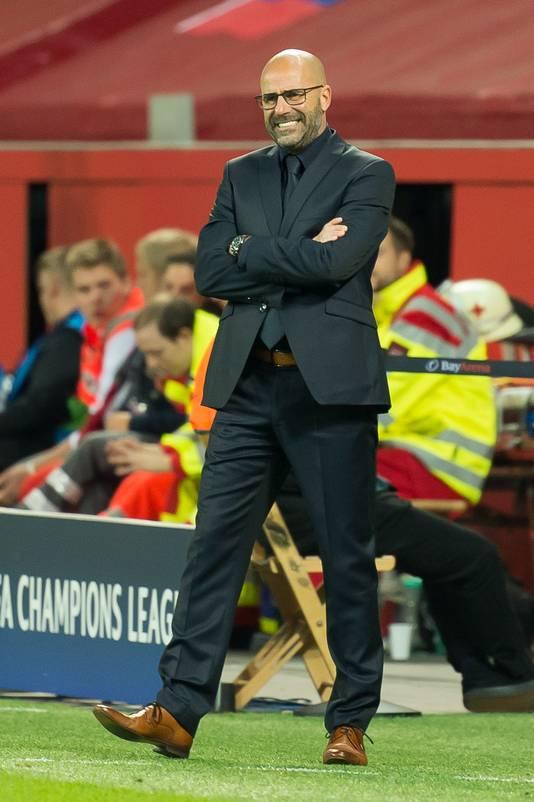 Peter Bosz hoopt met Bayer Leverkusen vanavond te stunten in de Champions League.