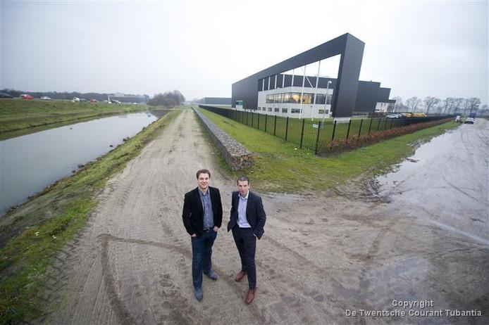 Archieffoto. André Pluimers en Mark van Onna (rechts).