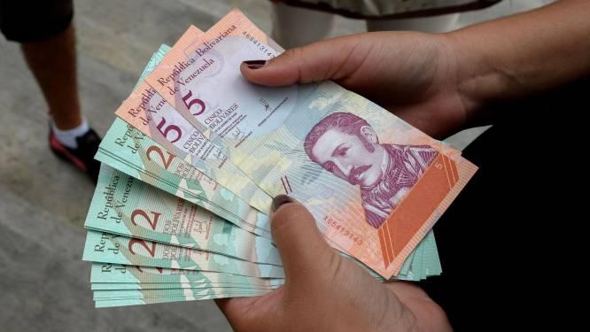 Venezuela voert weer nieuwe bankbiljetten in wegens recordinflatie