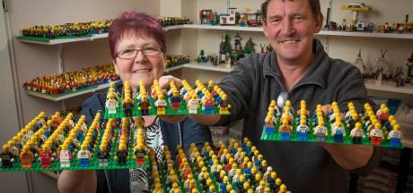 Harwin (56) en Lydia (55) hebben kamers vol lego