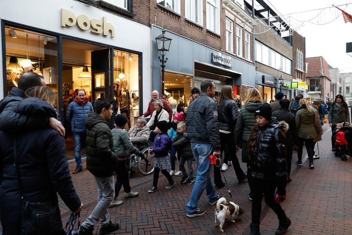 In december vorig jaar werden de eerste koopzondagen in Harderwijk gehouden, waaronder de zondag voor kerst.