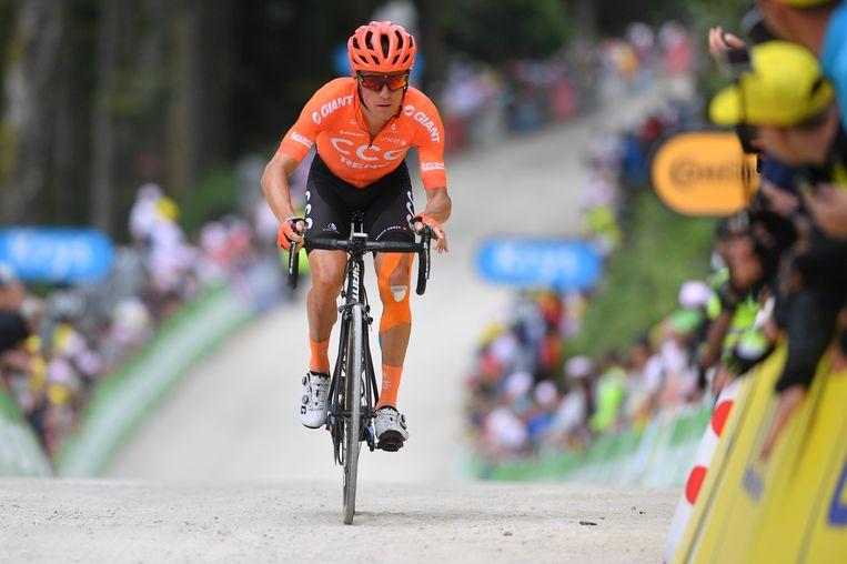 Van Avermaet tijdens de afgelopen Tour de France. Beeld BELGA
