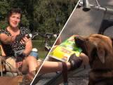 Hond en zijn baasje met MS houden Loosbroek schoon: 'We kunnen blijven rapen'