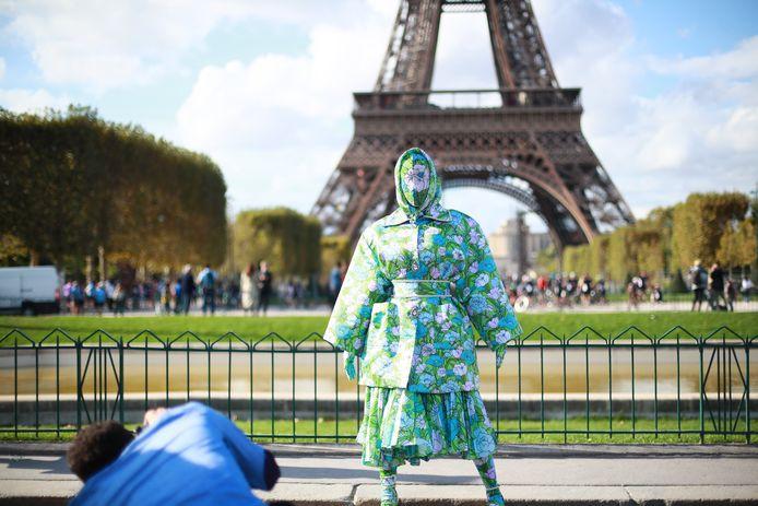 Poseren voor de Eiffeltoren mocht natuurlijk niet ontbreken.