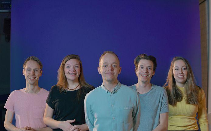 Benjamin Catsburg uit Lelystad is met vier vrienden een platform gestart om mensen in de coronatijd te steunen.