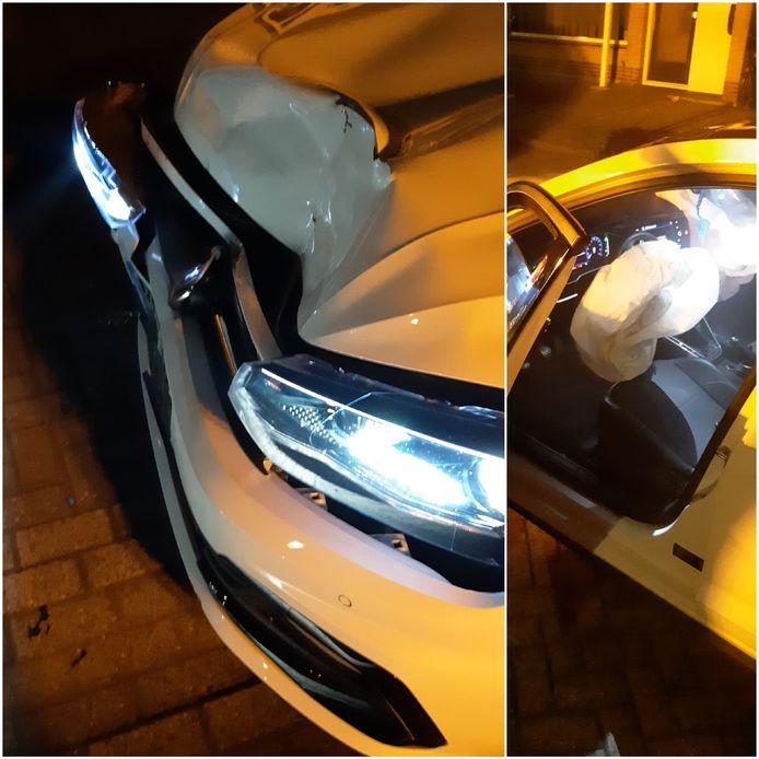 Automobilist crasht op geparkeerde auto's in Etten-Leur en slaat op de vlucht.