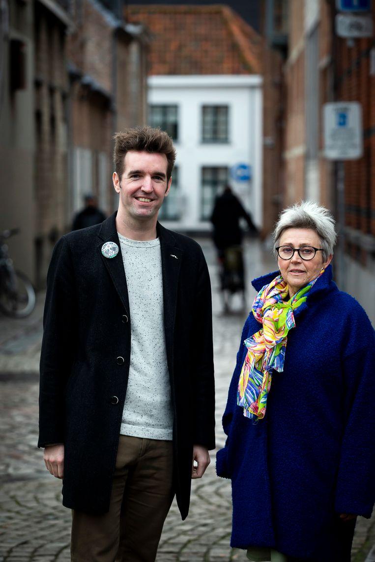Mieke en Hein Huyghe van vzw Verb(l)ind in Lier.