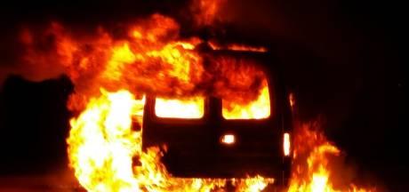 Alweer een autobrand in Haarlem
