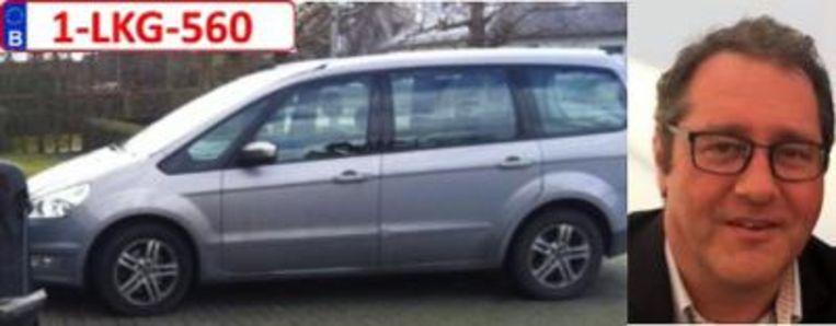 politie en gerecht vroegen uit te kijken naar Peter Hanssens uit Marke of zijn voertuig Ford Galaxy