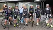 Johan Museeuw moedigt zes vrienden aan die naar Tourmalet fietsen voor goed doel